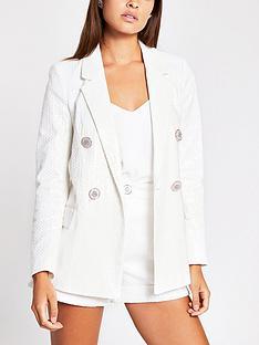 river-island-sequin-blazer-white