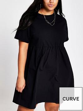 ri-plus-jersey-peplum-dress-black