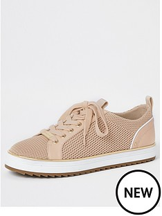 river-island-knitted-lace-up-trainer-pink