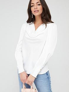 river-island-cowl-neck-blouse-white