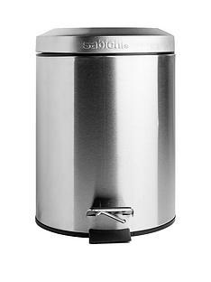 sabichi-3-litre-pedal-bin-ndash-stainless-steel