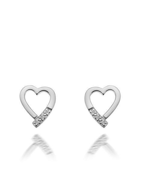 hot-diamonds-romantic-heart-stud-earrings