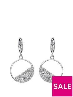 hot-diamonds-hot-diamonds-horizon-white-topaz-circle-earrings