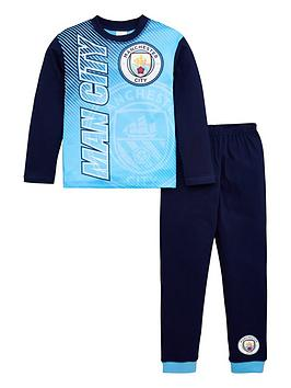 manchester-city-boys-football-long-sleevenbsppyjama-set-blue