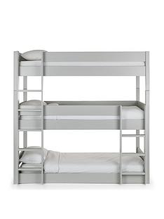 julian-bowen-trio-triple-stacker-bunk-bed-grey