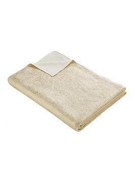 tess-daly-gold-knit-throw