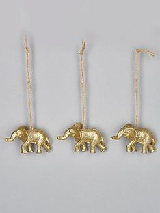 sass-belle-set-of-3-golden-elephant-christmas-tree-decorations