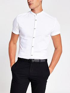 river-island-short-sleevenbspmuscle-grandad-shirt-white
