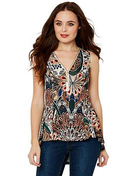 joe-browns-sleeveless-waterfall-top-multi