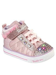 skechers-toddler-girl-shuffle-lites-lighted-high-top-trainer-pink