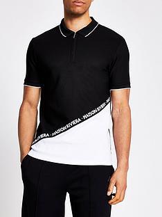 river-island-maison-blocked-polo-shirt-black