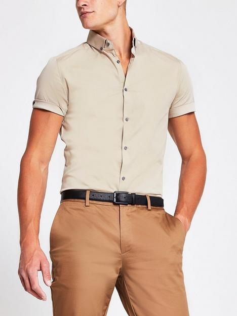 river-island-short-sleeved-muscle-shirt-stone