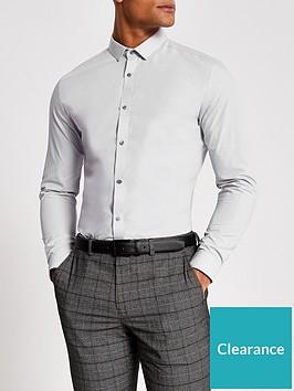 river-island-long-sleeve-slim-fit-shirt-light-grey
