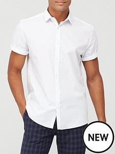river-island-short-sleeve-shirt-whitenbsp
