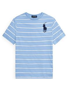 ralph-lauren-boys-short-sleeve-stripe-big-pony-t-shirt-blue