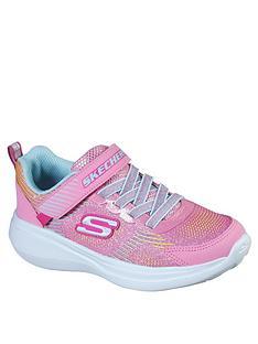 skechers-girls-go-run-fast-sparkle-strap-trainer-pink