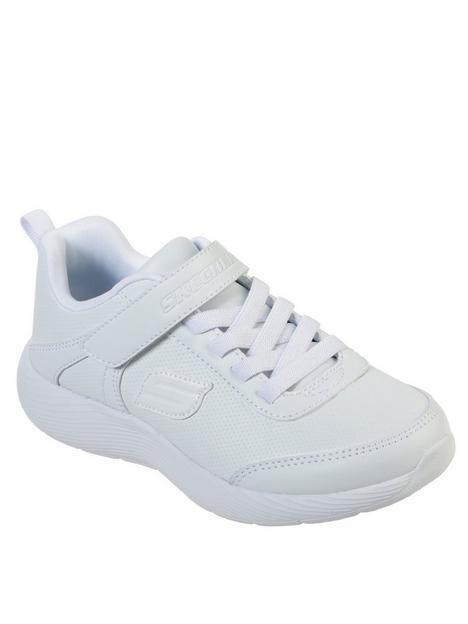 skechers-boysnbspdyna-lite-sprint-trainer-white