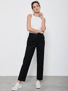 mint-velvet-buttoned-capri-trousers-black