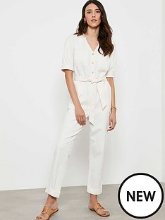 mint-velvet-button-puff-sleeve-boilersuit-ivory