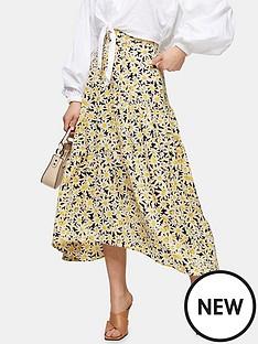 topshop-daisy-tiered-midi-skirt-yellow