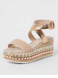 river-island-stud-wedge-flatform-sandal-rose-gold