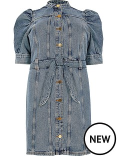 ri-plus-ri-plus-button-down-denim-dress-blue-denim