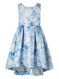 monsoon-girls-naya-jacquard-hi-low-dress-blue