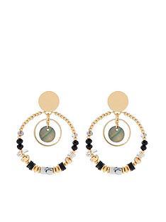 accessorize-mixed-shell-hoop-earrings-multi