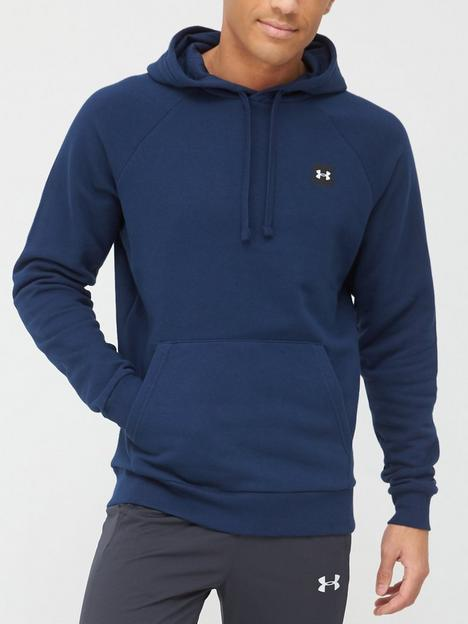 under-armour-trainingnbsprival-fleece-hoodie-navywhite