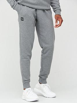 under-armour-trainingnbsprival-fleece-joggers-greywhite