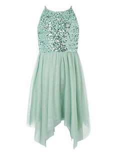 monsoon-girls-truth-sage-sequin-hanky-hem-dress-green