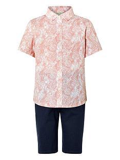 monsoon-boys-george-shirt-and-short-set-pink