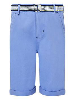 monsoon-boys-blake-short-and-belt-blue