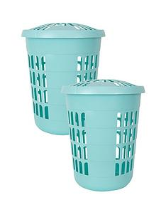 wham-deluxe-round-laundry-hampers-set-of-2
