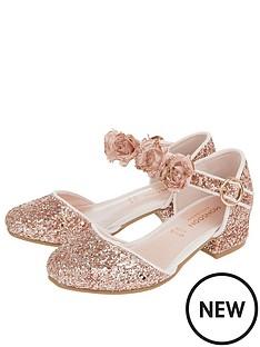 monsoon-girls-abilene-glitter-corsage-two-part-shoe-rose-gold