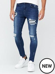 11-degrees-essential-super-stretch-distressed-skinny-jeans-indigo-washnbsp