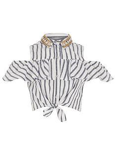 river-island-girls-stripe-embellished-tie-shirt--nbspblue