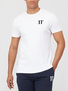 11-degrees-core-t-shirt-white