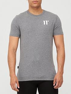 11-degrees-core-t-shirt-charcoal-marl