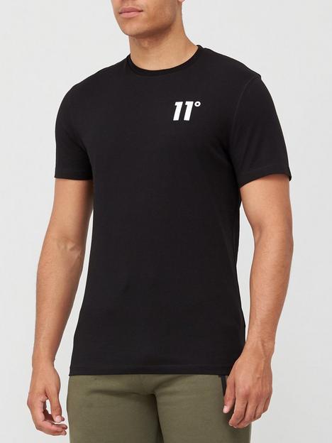 11-degrees-core-t-shirt-black