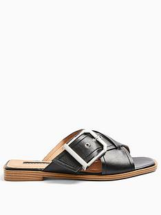 topshop-porto-buckle-sandals-black