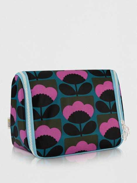 orla-kiely-spring-bloom-hanging-wash-bag