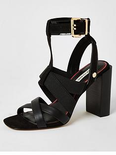 river-island-elastic-strap-block-heel-sandal-black