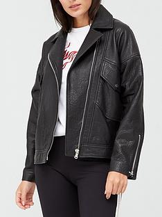 hugo-levari-leather-biker-jacket-black