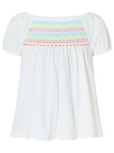 monsoon-girls-sew-peri-pom-pom-top-ivory