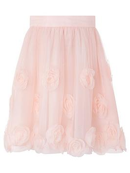 monsoon-girls-3d-roses-skirt-dusky-pink