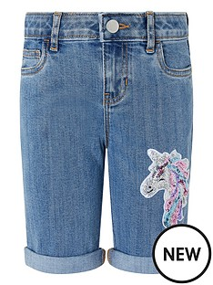 monsoon-girls-elouise-unicorn-sequin-short-blue