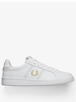 fred-perry-leather-trainers-whitegoldnbsp