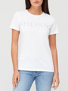 boss-logo-tee-white