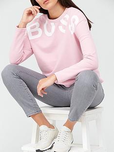 boss-boss-logo-sweat-topnbsp--pale-pink